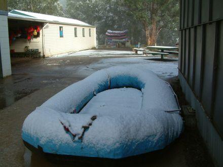 Snowy rafting trip