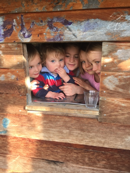 Cubby house bandits!