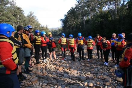 Rafting Training