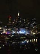 Nightime view