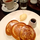 Buttermilk Pancakes at The European