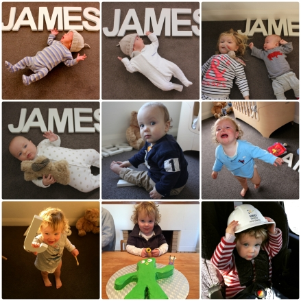 James' 2nd Birthday