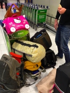 Oh my word - look at all our luggage!