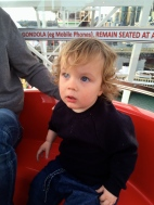 James on the Ferris Wheel