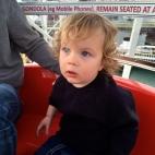 James on the Ferris Wheel