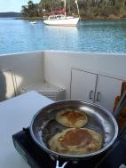 Pancakes for breaky