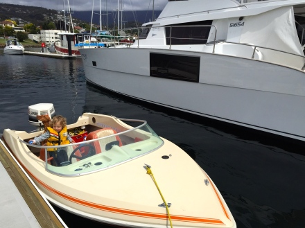Speedy Boat & Mercury