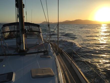 Mistraal off Maria Island
