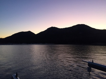 Dawn at Freycinet Peninisula
