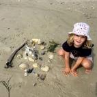 Poppy's sand castle