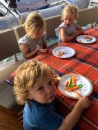 Dinner for little cousins