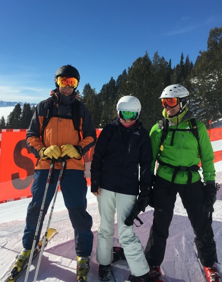 Nick, Larni & Gary - Teton Chair