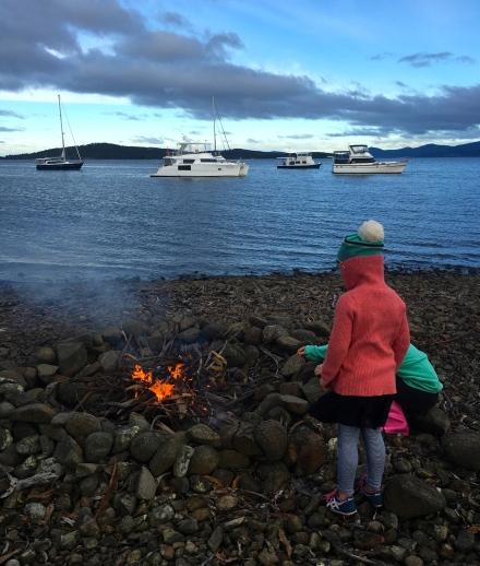 Campfire at Biddies