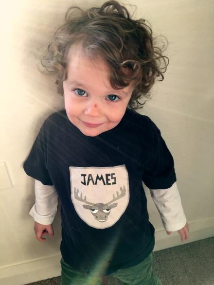 Three Year Old James