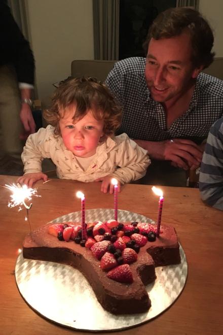 James' birthday cake