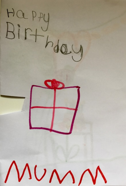 Poppy's Birthday Card